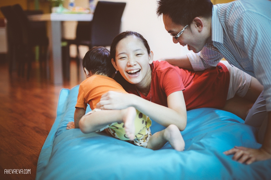 Darling Wong Mun Lok & mommy & daddy
